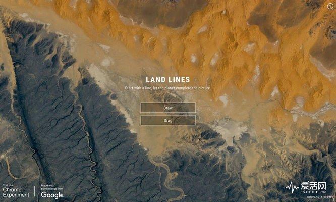 随手一涂鸦 Google Land Lines带你逛地球-德州新博科技