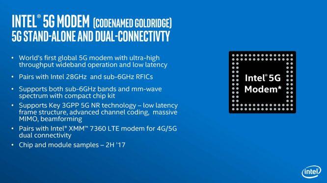 CES2017 | 高通被抢了先 Intel发布首套全网通5G Modem方案-德州新博科技