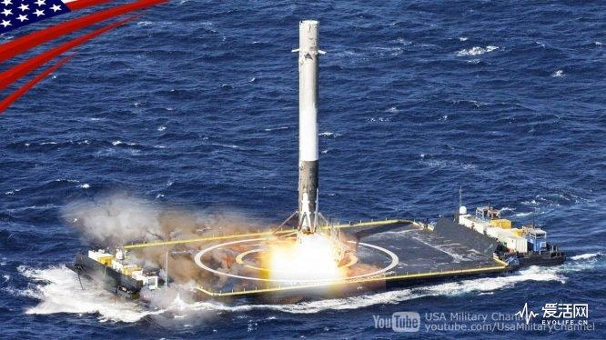 猎鹰9号一级火箭成功回收 这次是一发十星-德州新博科技