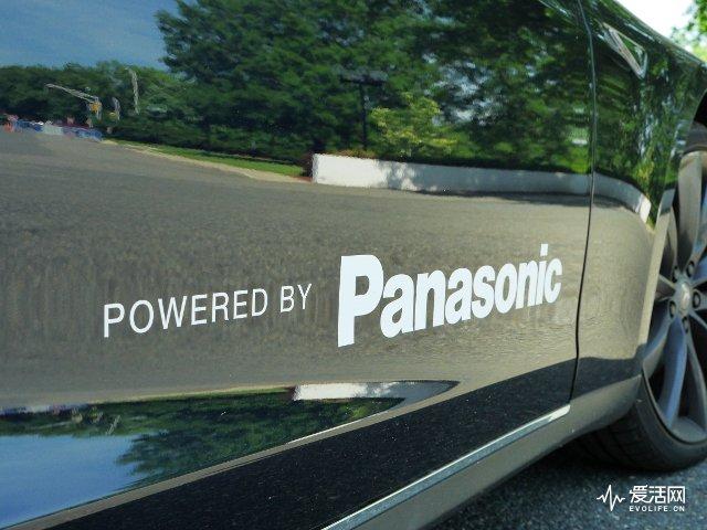 Tesla-Panasonic-Powered