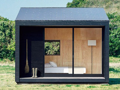 当你买不起房打算住集装箱时 无印良品放出了小户型木屋