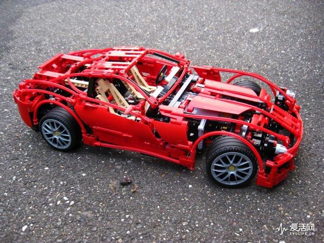 我跟你说 | 除了保时捷911 gt3 rs 乐高还造了哪些车