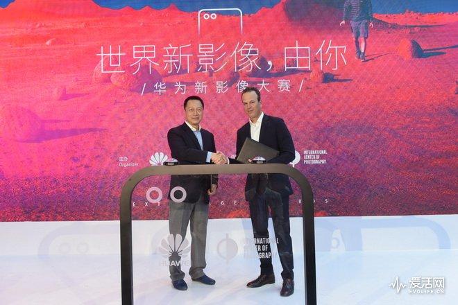 3-华为与纽约国际摄影中心ICP正式签约 交换合作备忘录