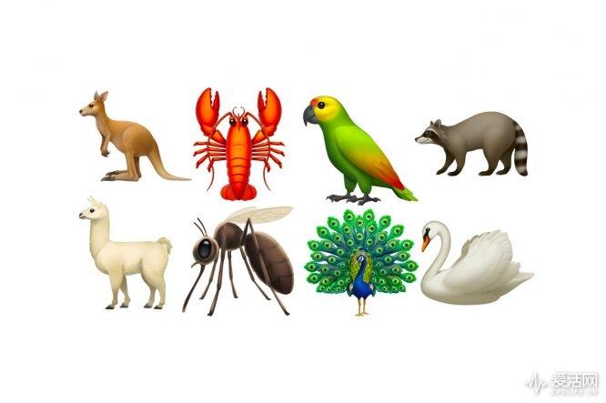 小龙虾 emoji表情 复制分享展示图片