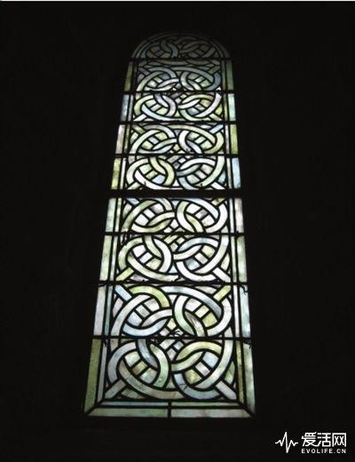 奥巴辛修道院玻璃