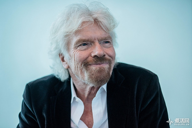 Billionaire Richard Branson, founder of Virgin Group Ltd., reacts during an interview in Hong Kong, China, on Wednesday, July 5, 2017. Virgin Galactic will conduct powered flights with new SpaceShipTwo craft roughly every three weeks after restart, Branson said in the interview. Photographer: Anthony Kwan/Bloomberg via Getty Images