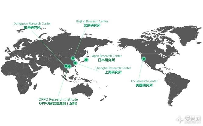 【2018-04-04】OPPO全球研究机构布局