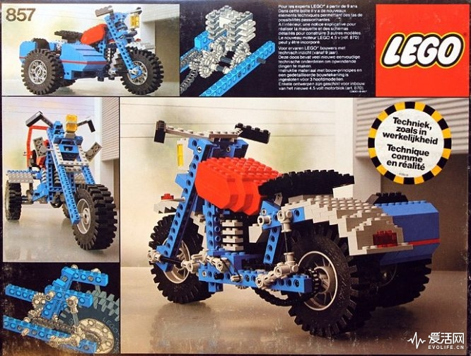 Technic Motorbike with Sidecar