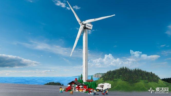 10268 乐高®创意百变高手系列「Vestas风力发电机 」- 情境图