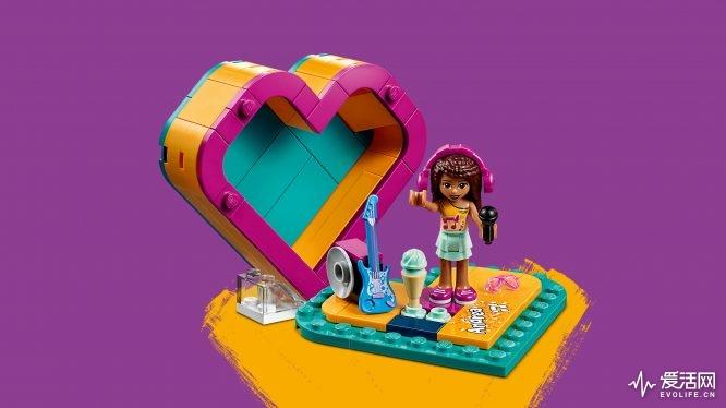 41354 乐高®好朋友系列「安德里亚的爱心藏宝盒」- 情境图