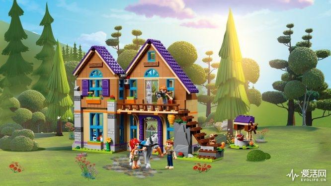41369 乐高®好朋友系列「米娅的林中别墅」- 情境图