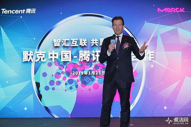 默克中国生物制药业务董事总经理罗杰仁先生致辞