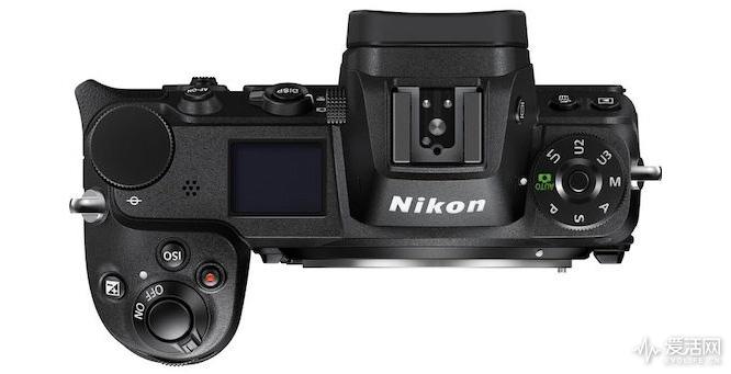 Nikon-Z6-top-view