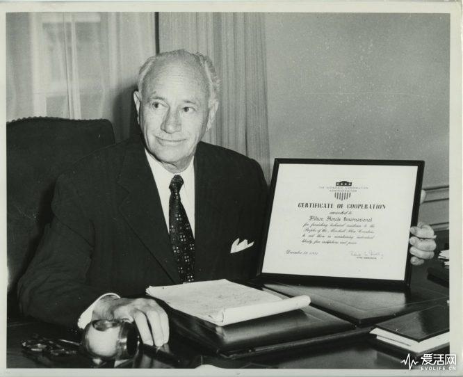Conrad Nichoson Hilton 1951