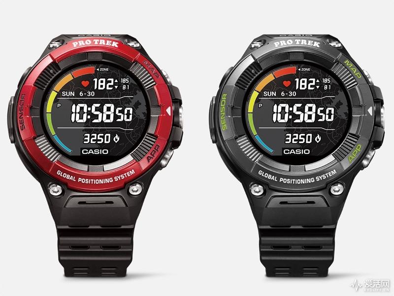 卡西欧发布新款PRO TREK Smart手表 增加测心率功能