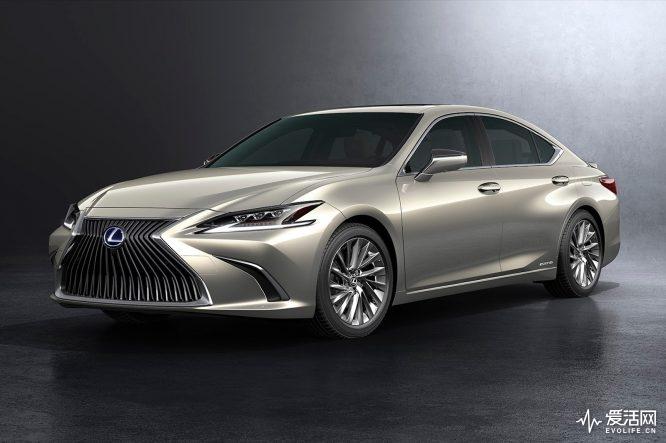 2019-Lexus-ES-300h-front