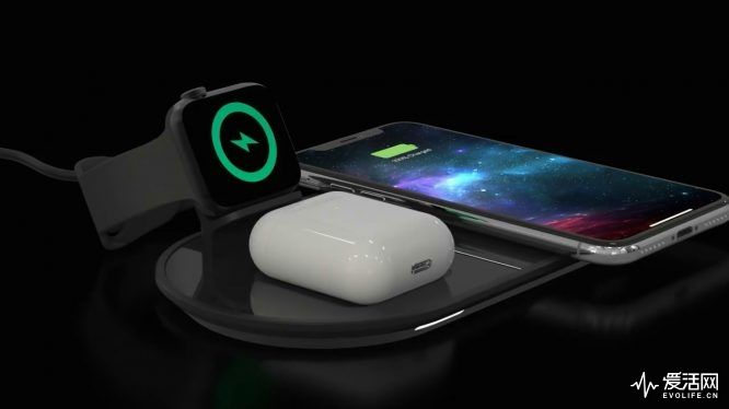 mophie 3-in-1 wireless charging pad for Apple iPhone, Watch & AirPods [720p].mp4_20190812_115640.142