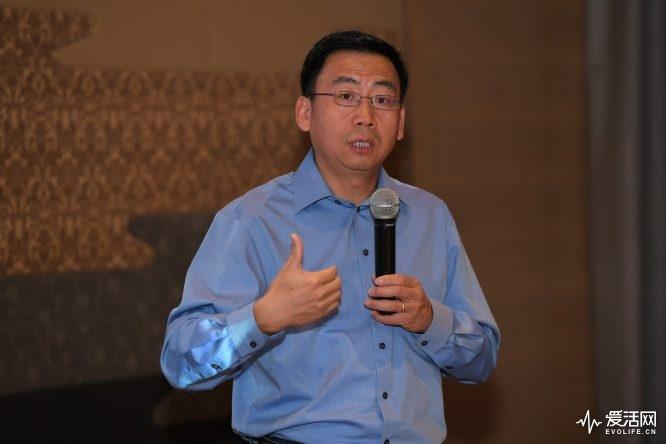 英特尔公司客户端计算事业部副总裁、终端客户工程事业部总经理Sam Gao