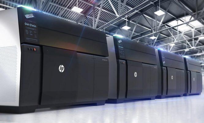 HP Metal Jet金属3D打印技术用于批量化生产