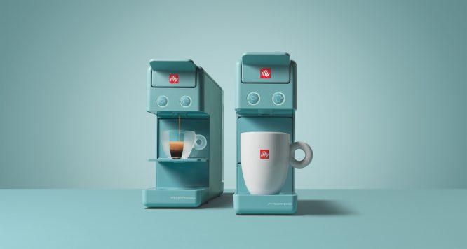 illy意利咖啡推出全新限量Y3.2阿玛非蓝Amalfi Blue胶囊咖啡机 (1)