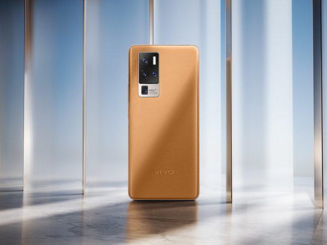 X50 Pro+产品美图_驼色全机