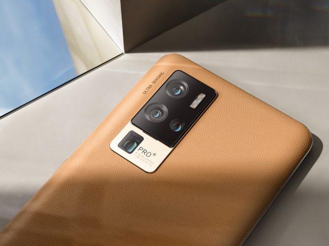 X50 Pro+产品美图_驼色背面特写