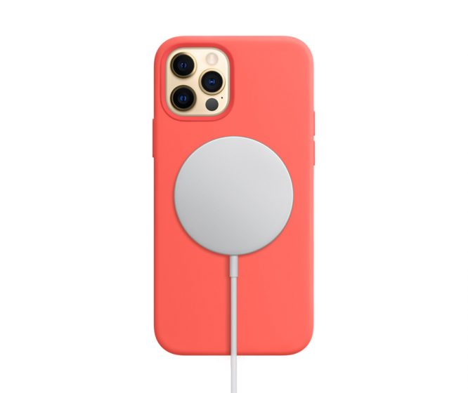 iPhone12Pro-MagSafe-coral-charging